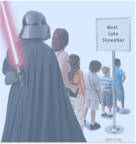 Darth Vader is almost always funny