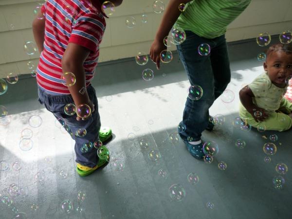 bubble stomp