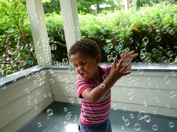 get those bubbles